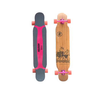 Koston light dancing style maple wood completed longboard for girl