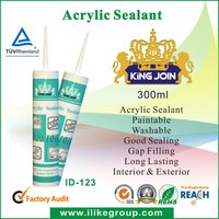 Bathroom joint cracks Acrylic Sealant
