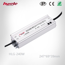 P65 240W waterproof AC DC LED driver with High PFC 36V/42V/48V/54V Adjustable Current and Voltage 5 year Warranty