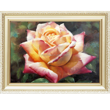 2016 Hot sale handmade flower pictures oil painting by numbers kits