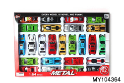 wholesale cheap kids die cast toy 25pcs/box small metal cars toys