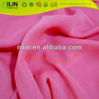 100% polyester textile silk chiffon fabric for scarf fabric