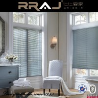 motor roll up aluminum slats window blinds