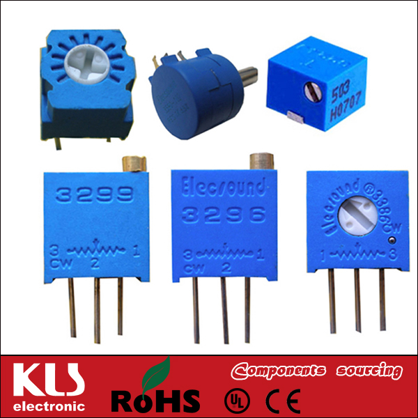 Good quality potentiometer manufacturer UL CE ROHS 124 KLS Brand