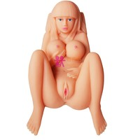 BJDoll Flexible Silicone Vagina Mini Sex Doll for Men Real Adult Toys Sex Doll Full Size Sex Toy Silicone Doll