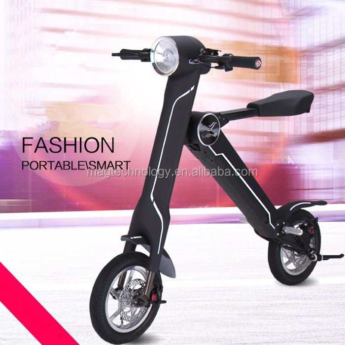 Mag New ET with Samsung battery 350W Folding 12'' mini ebike city folding electric scooter alloy frame disc brake electric bike