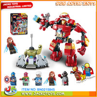 Multi Assemble Hero Blocks Plastic Building Bricks 304PCS