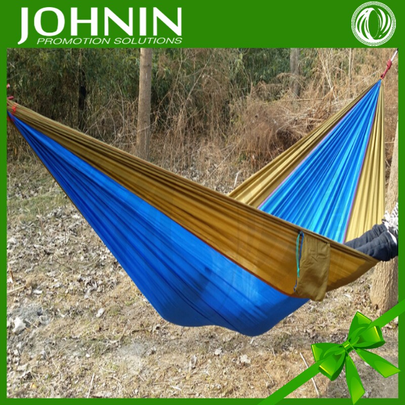 best sell high quality factory directly sales customized color outdoor double camping hammock