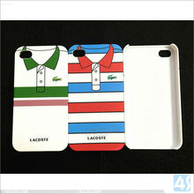 Shirt Pattern PC Hard Mobile Phone Case for iPhone 4/4s P-iPHN4SHC065