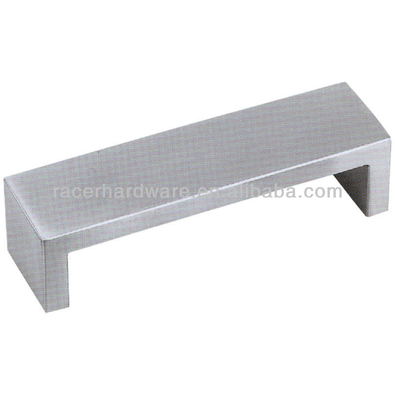 Stainless steel furniture drawer kitchen cabinet pull handle