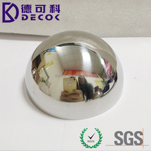 Best seller 500mm hollow steel half ball 20 inch hollow metal sphere stainless steel hemisphere