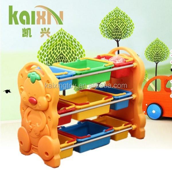 Muebles de dormitorio para niños de juguete de plástico display
