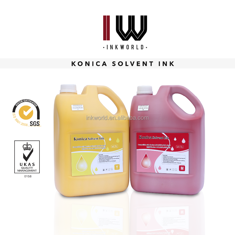 Good for head Solvent ink for Taimes T7/T8 machine with Konica 512/KM1024