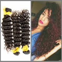 good quality long lasting sfot and smooth deep curly hair tight curl hold for long time cambodian virgin hair