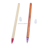 New Eco-friendly Natural Wooden Stick Pen Accept Logo Custom
