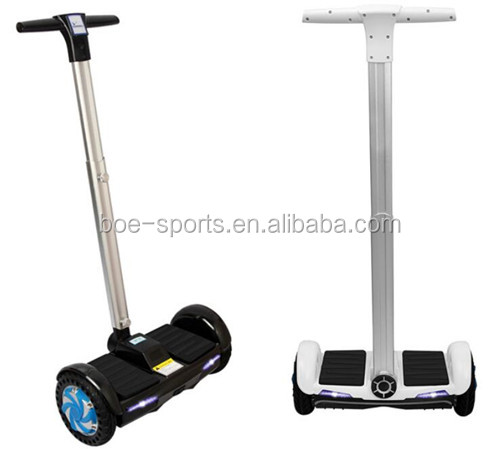 "F1 lithium battery self balancing scooter smart 10 balance wheel 8"" handle bar 500w motor electric hoverboard two wheel"