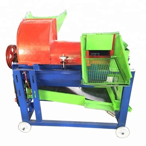 Corn Maize Wheat Soybean Paddy Peeling Milling Rice Sheller Shelling Threshing Thresher Machine For Sale Price