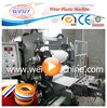 Qingdao Weier Plastic Machinery edgebander machine pvc edge banding production line with printing machine