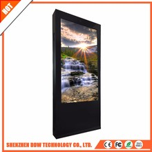 Hot sale top quality 500cd/m2 remote touch kiosk double control wireless digital signage