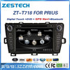For toyota prius best selling car parts touch screen auto radio with GPS/DVD/RADIO/BLUETOOTH/SWC
