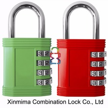 Password lock 4 digits number code combinations padlock for maximum security