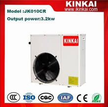 China high cop heat pump air to water mini split type