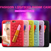 2016 trending products Modish lipsticks design silicone cell phone case for iphone5/6/6 plus /samsung galaxy note 2/note 3/S6