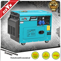 BISON CHINA TaiZhou 3KW 110kva CE&ISO Electric Power Silent 3000w Inverter Generator