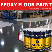 High Performance Epoxy Based Self Leveling Floor Paint
