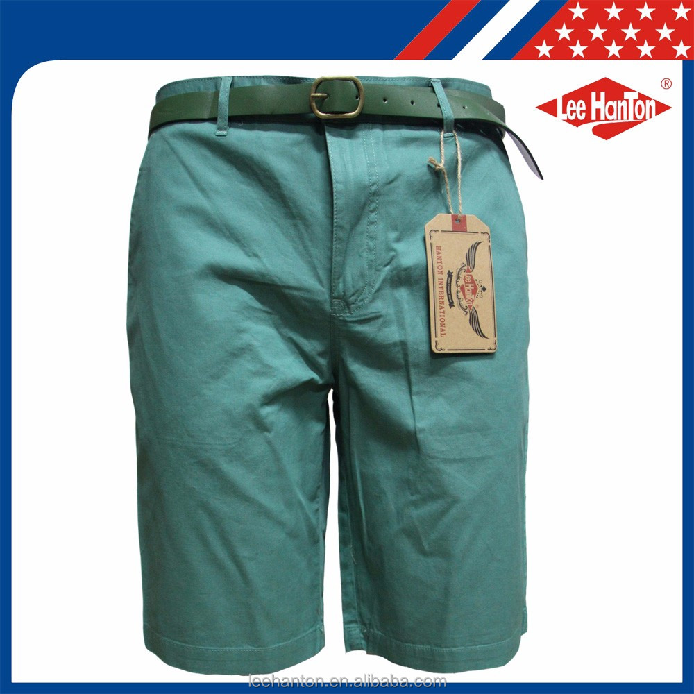 New Brand Bermuda Garment Dyed Cargo Mens Short