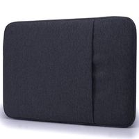 Wholesale waterproof 11 inch laptop sleeve with zipper side pocket