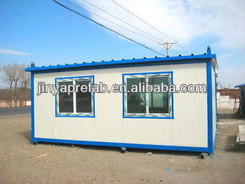 Popular customized design prefabricated modular container house for living / office