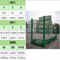 20' FR(Flat Rack) --- logistics and 3pl services in china