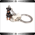 Daihe dog lover best gift custom charms keychain for promotion