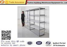 Light weight Short span Indoor Boltless Steel Shelving System / Slotted Angle Racks