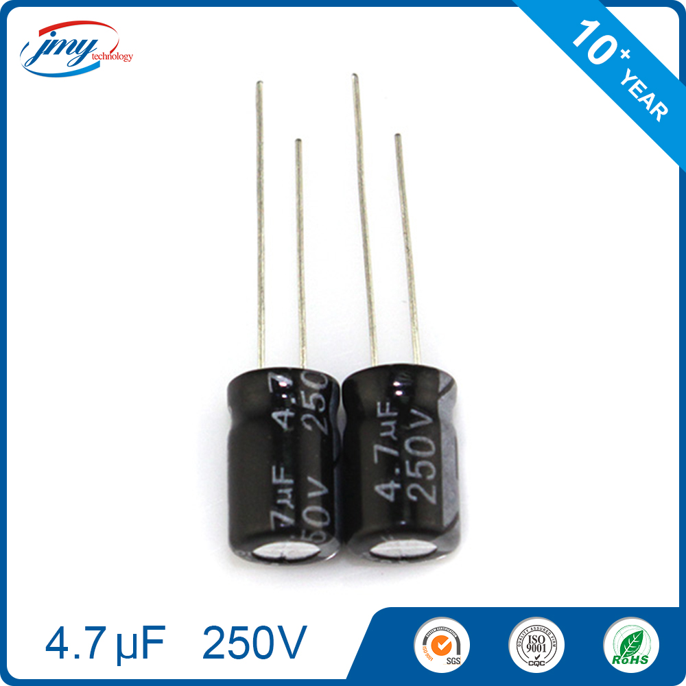 Brand new 8*12mm capacitor 4.7uf 250v