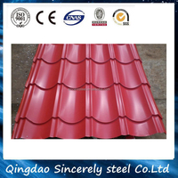 aluminium corrugated sheets prepainted corrugated metal roofing sheet