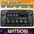 WITSON WINDOWS AUTO RADIO DVD PLAYER GPS FOR BYD F3