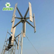 1kw 1mw homemade wind turbine generator with three blades
