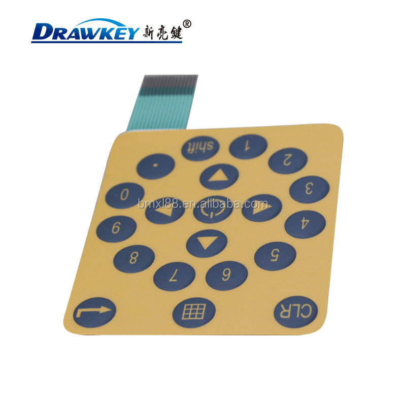 Silicone Rubber Keyboard tactile Membrane Switch