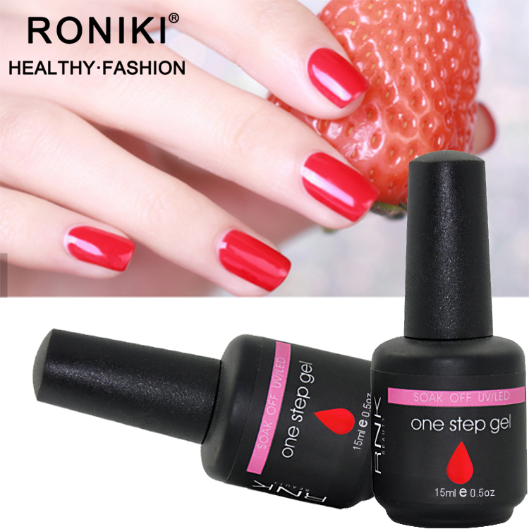 RONIKI  Effect Gel Polish High Quality 1 Step Gel Nail Polish