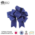 Handmade wedding gift packing satin solid color satin ribbon bow