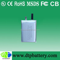 Hot sales model 1200mAh li ion Battery 3.7V Rechargeable