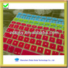 colourful custom silicone keyboard cover
