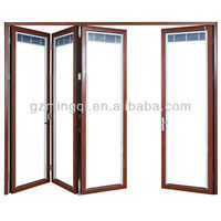 Plastic or pvc bifold doors and windows