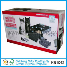 High-grade packaging paper box for pet carrier