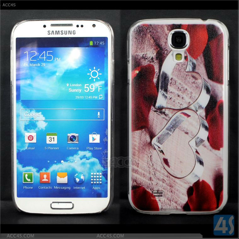 3D Anaglyph Case for samsung galaxy s 4 waterproof I9500 P-SAMI9500HC071