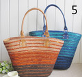 bling bling wheat straw beach bags