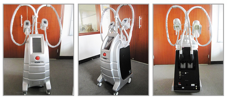 ETG50-4S Hot!! Double fat suction weight loss cryolipolysis slimming machine