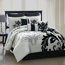 wholesale plain black comforter sets bedding
